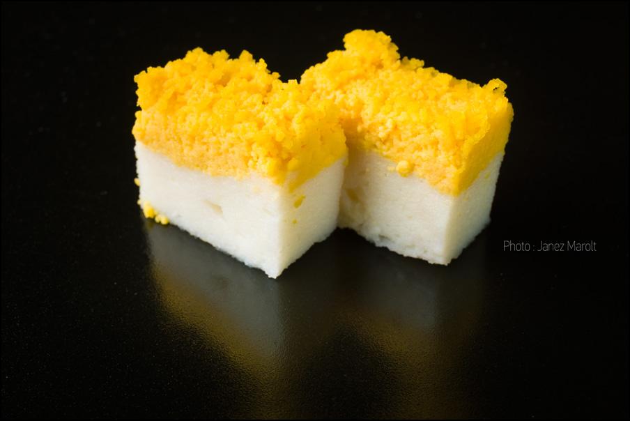 Japonska hrana - jajčna sladica