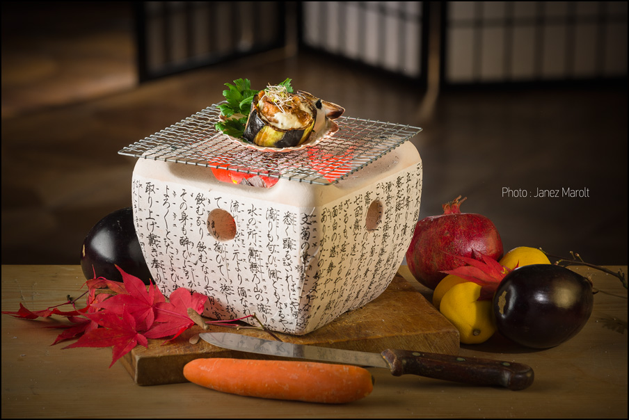 Japonska hrana - Shin Sato, Fotografija: Janez Marolt